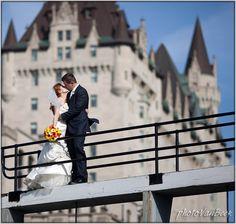 Ottawa wedding photo - chateau laurier