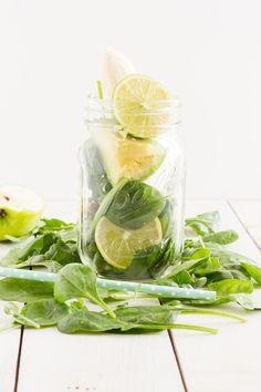 haseimglueck.de Rezept, Green Smoothie Avocado Spinat Apfel 4