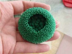 Interesting Tutorial for making a bubble pendant out of polymer clay, and it's a color gradient as well.