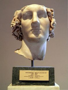 Head of Alexander the Great, Sculptures of the Hellenistic period