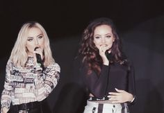 Perrie and Jade for Popspring Japn 2018 Litte Mix, Mixed Girls, Jesy Nelson, Perrie Edwards, Girl Bands, Celebs, Celebrities, Jade, Queens