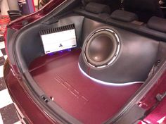 Car Toys Custom Install - Scion w: Speakers and Amp