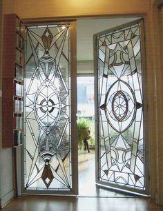 Art Deco Style Interior Doors