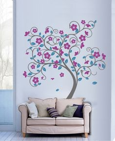 I want to paint a mural on a wall in my home someday...