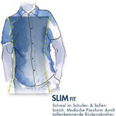 Signum Kurzarmhemd Herren, blau SignumSignum