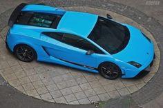 BLUE GALLARDO LAMBORGHINI HYPERCARS LUXURY CARS STANCE EXOTICCARS