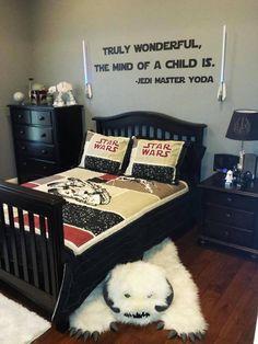 Dream bedroom, am I right? #starwars