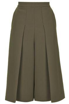 Premium Thick Crepe Culottes