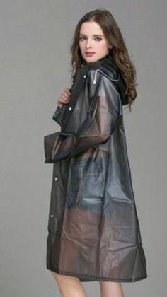 Vinyl Raincoat, Pvc Raincoat, Raincoat Jacket, Hooded Raincoat, Best Rain Jacket, Rain Jacket Women, Raincoats For Women, Jackets For Women, Green Raincoat