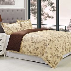 Simple Luxury Woodhaven 3 Piece Reversible Duvet Cover Set Size: King/California King