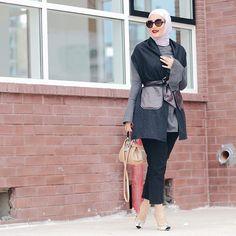Outfit details!  @r.i.b.b.o.n.s Vest, Zara dress and pants ❤️️ تفاصيل لبس امس ❤️️ الڤست من  @r.i.b.b.o.n.s