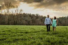 Dana & Travis Engagement 2016 Photo By JCM Photography