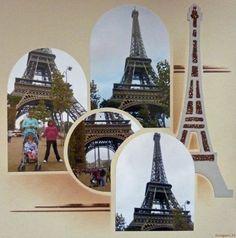 Tour-Effel - Scrapanic33 Gabarits Paris-Istanbul et Tour Effel de Lea France