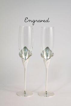 Disney Princesse paillettes embelli Flûtes à champagne