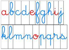 Lettres mobiles Montessori - idecole