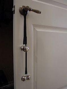 DIY poochie bells