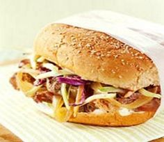 Crockpot Pork Sandwiches