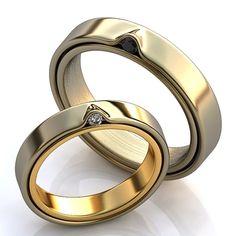 amazing 3d wedding rings - Google Search