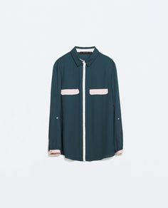 Image 5 of COLOR BLOCK SHIRT from Zara