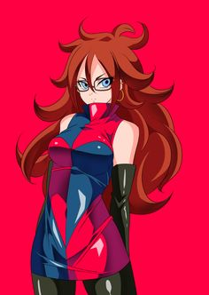 Android 21~Dragon Ball by Warabimochii
