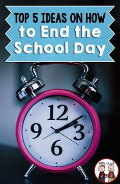 The end of the school day can always be tricky. What do you do with those 5-10 minutes before the students leave? We have come up with our top 5 ideas on how to end the school day with our upper elementary age students. Great tips for your 3rd, 4th, or 5t