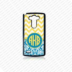 Monogram LG G4 CaseMonogram Phone Case Chevron by MonogramForYou