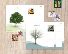 Atividades Estações do Ano . Seasons Activity . Montessori . | Etsy Seasons Activities, Activity Mat, Montessori Activities, Picture Cards, Marketing And Advertising, Printer, Etsy, Seasons Of The Year, Trading Cards