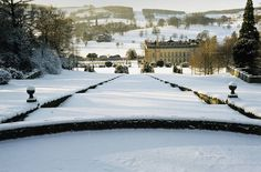 Chatsworth Winter Cascade by Visit Peak District, via Flickr