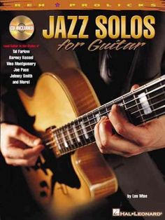 (REH Publications). Examine the solo concepts of top jazz guitarists in this info-packed book/CD pack. The CD includes full demonstration and rhythm-only tracks to assist with learning the styles of K