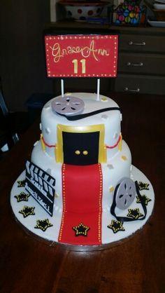 Movie premier cake by Karen's Kaykes