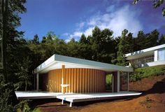 Image result for shigeru ban house with trees