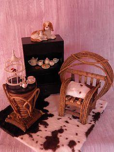 Diorama 1 4 1 6 Furniture Set for Sybarite Tonner Gene Ellowyne BJD Allfordoll | eBay