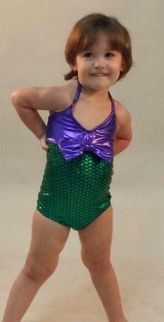 Mermaid Bathing Suit by TAILZmermaidGear on Etsy, $45.00