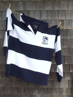 Nantucket 1837 Rugby. Designed on Nantucket