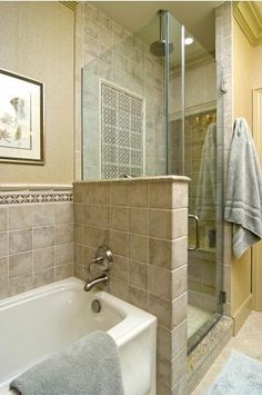 1000 images about narrow master bath on pinterest bath for Small narrow master bathroom ideas