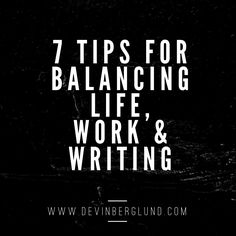 Do you ever feel like you are a trapeze artist who is walking across a wire balancing fine china on your arms, head, and shoulders when it comes to balancing your life with work and your writing?  Yes? I know I have felt that way!