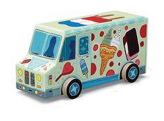 Puzzel Ijsjeskar / Puzzle Marchand de glace / Puzzle Ice cream truck