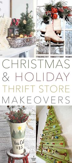 Christmas and Holiday Farmhouse Thrift Store Makeovers . - Grey - Christmas and Holiday Farmhouse Thrift Store Makeovers . Christmas Wall Art, Christmas Holidays, Christmas Crafts, Christmas Decorations, Holiday Decor, Cowboy Christmas, Christmas Centerpieces, Rustic Christmas, Happy Holidays