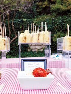 Get creative with a bridal shower; champagne & chocolate bar; ice cream bar; sushi