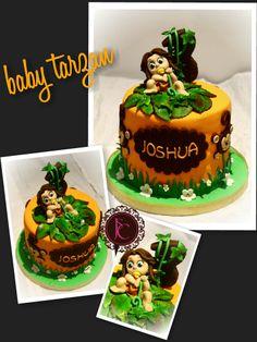 Young tarzan cake