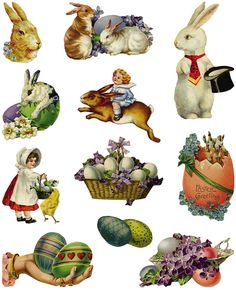 Easter Printables, Clip Art..Decoupage?  Welcome to Dover Publications