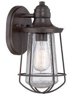 Buy the Quoizel Western Bronze Direct. Shop for the Quoizel Western Bronze Marine 1 Light Tall Outdoor Wall Sconce with Seedy Glass and Vintage Edison Bulb and save. Outdoor Ceiling Fans, Outdoor Wall Lantern, Outdoor Wall Sconce, Outdoor Wall Lighting, Outdoor Walls, Wall Sconce Lighting, Wall Sconces, Exterior Lighting, Lighting Ideas