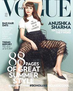 Anushka Sharma on Vogue