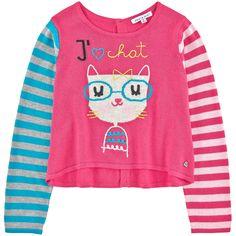 Fancy viscose blend sweater - 147497