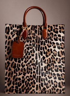 Burberry Spotted Animal Tote