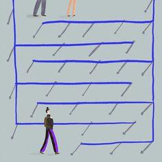 Awkward airport maze Maze, Awkward, Line Chart, Illustrations, Website, Illustration, Labyrinths, Paintings
