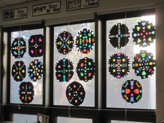 Rose Window radial designs