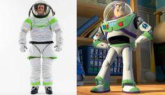 Nasa cria roupa espacial inspirada em Buzz Lightyear