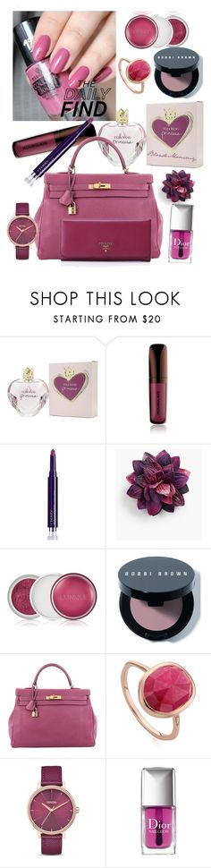 """""""Isn't This Pink Fabulous!?"""" by blondemommy ❤ liked on Polyvore featuring beauty, Vera Wang, Hourglass Cosmetics, By Terry, Talbots, Clinique, Bobbi Brown Cosmetics, Hermès, Monica Vinader and Nixon"""