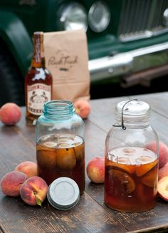 Fresh Georgia Peach Bourbon   The Peach Truck
